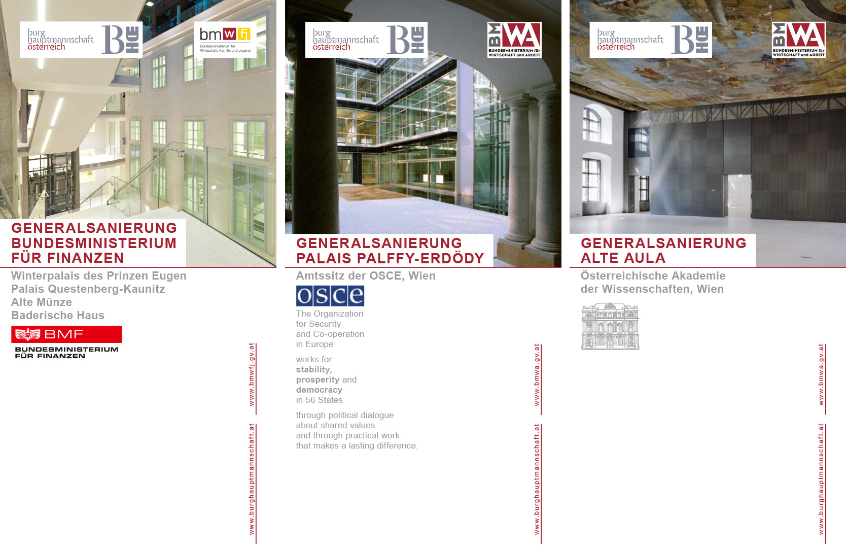 Burghauptmannschaft Österreich Folder 2007-2006