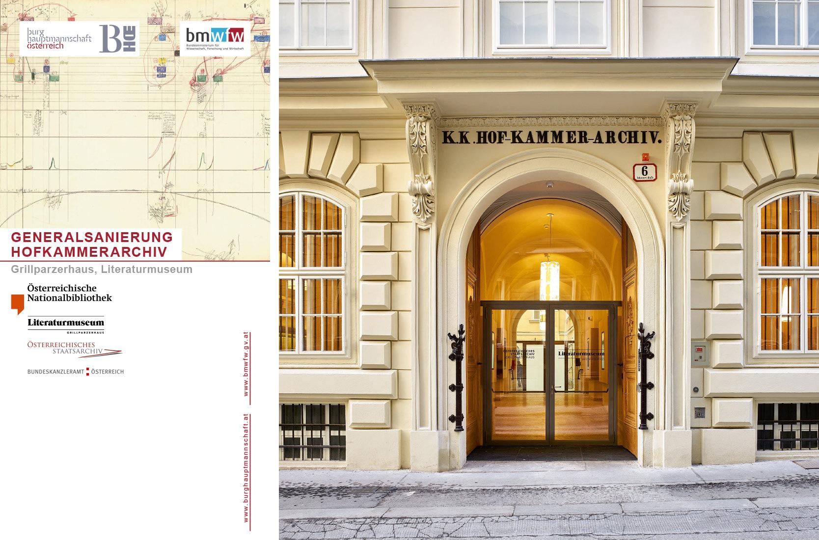 Burghauptmannschaft Österreich Folder: Hofkammerarchiv