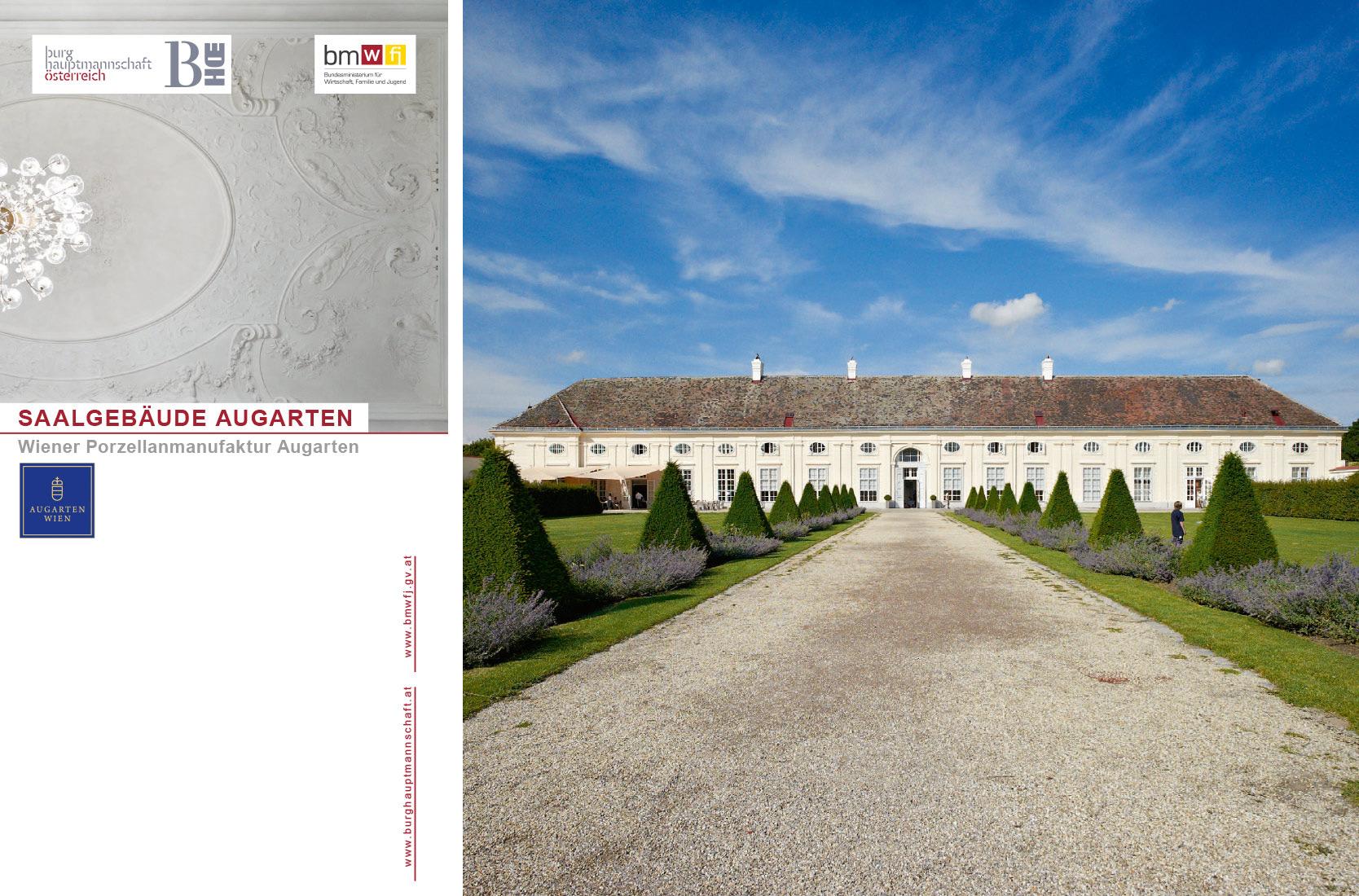Burghauptmannschaft Österreich Folder: Saalgebäude Augarten