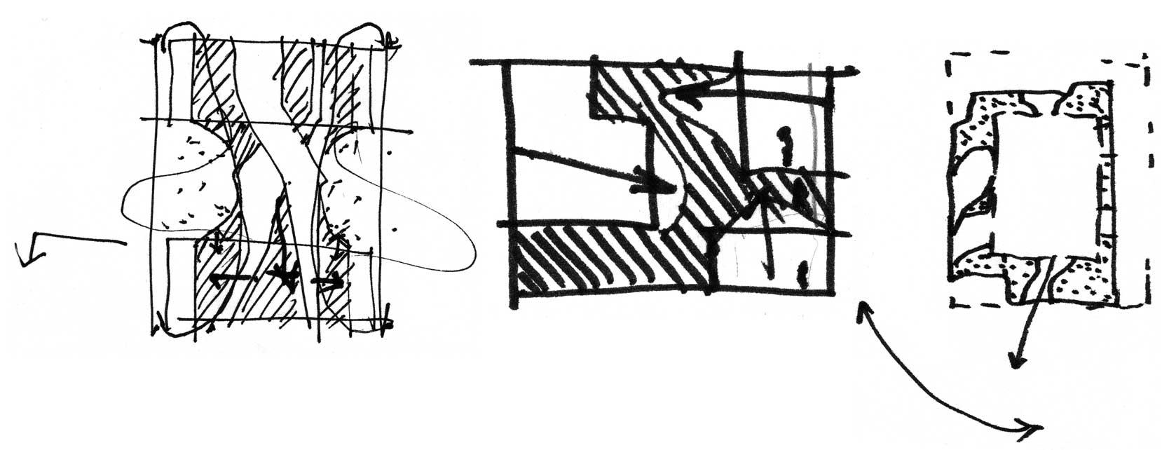 Venice Biennale 2010: Concretion Sketch