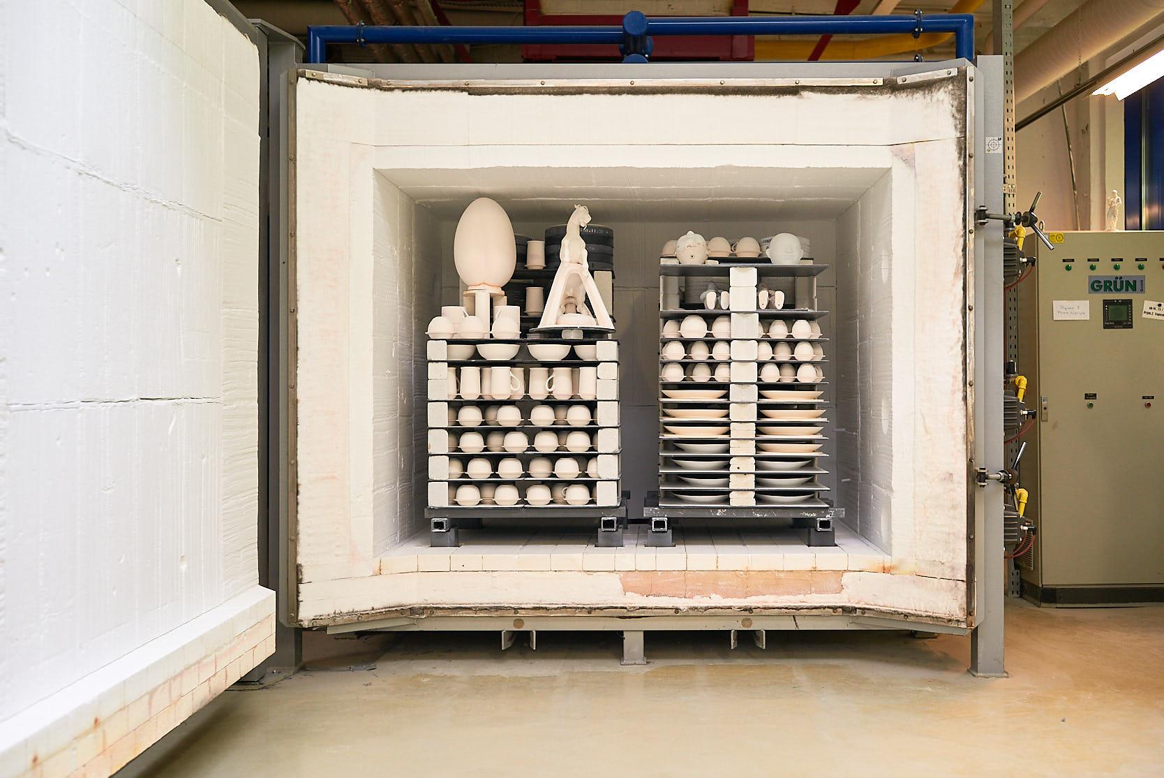 Brennhalle Wiener Porzellanmanufaktur Augarten: Brennofen