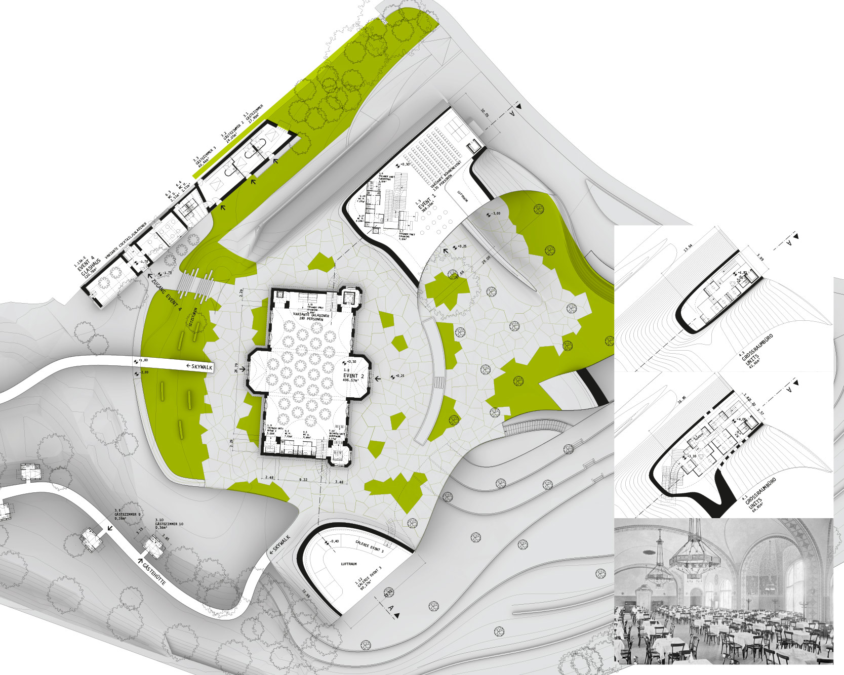 Cobenzl Wien Competition: Plans