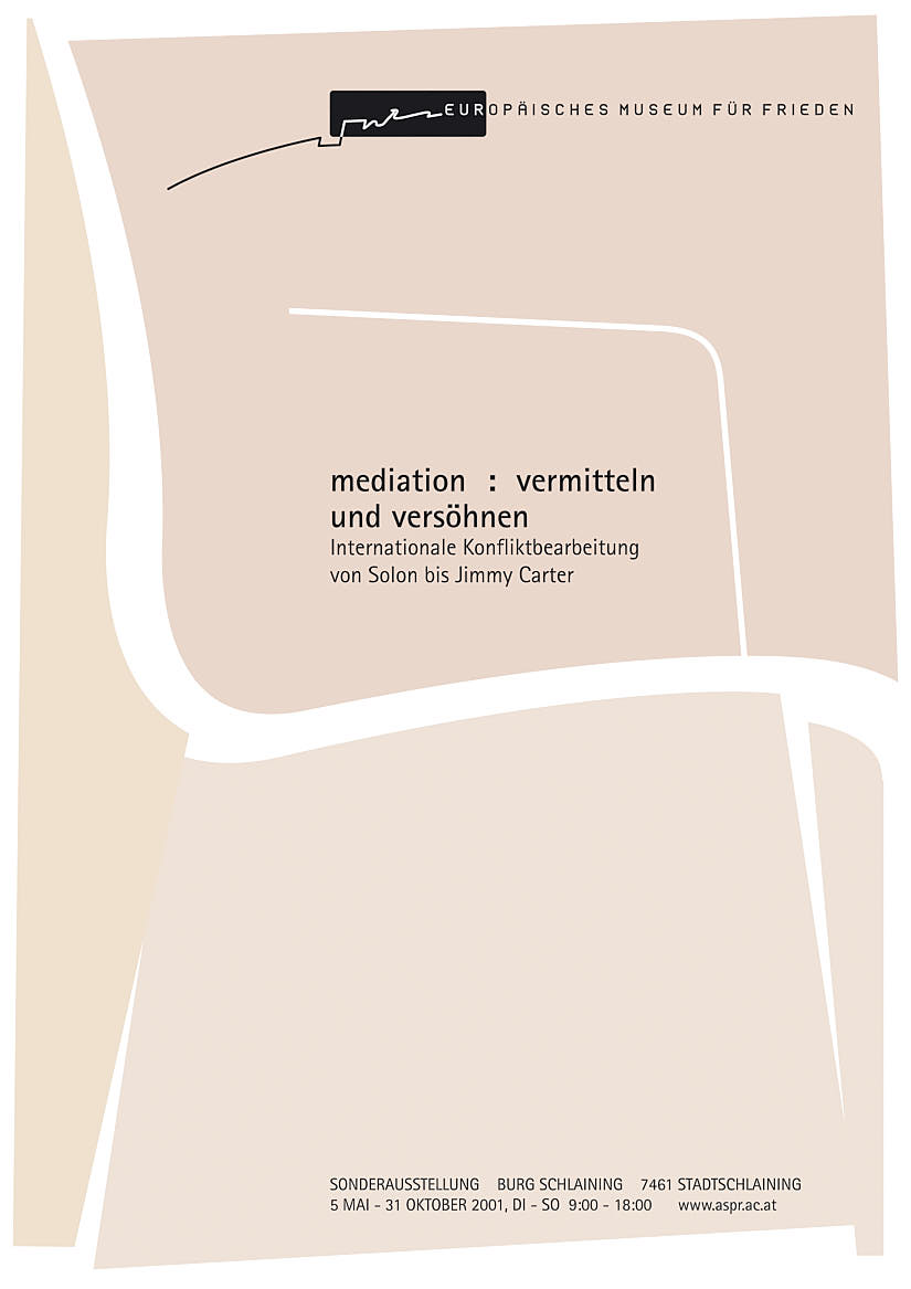 European Museum Of Peace: Mediation Poster