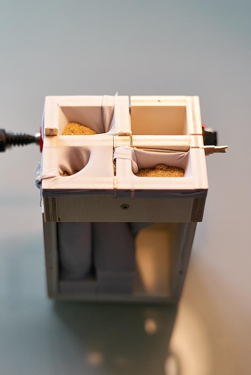 Venice Biennale 2010: Concretion Model Studies