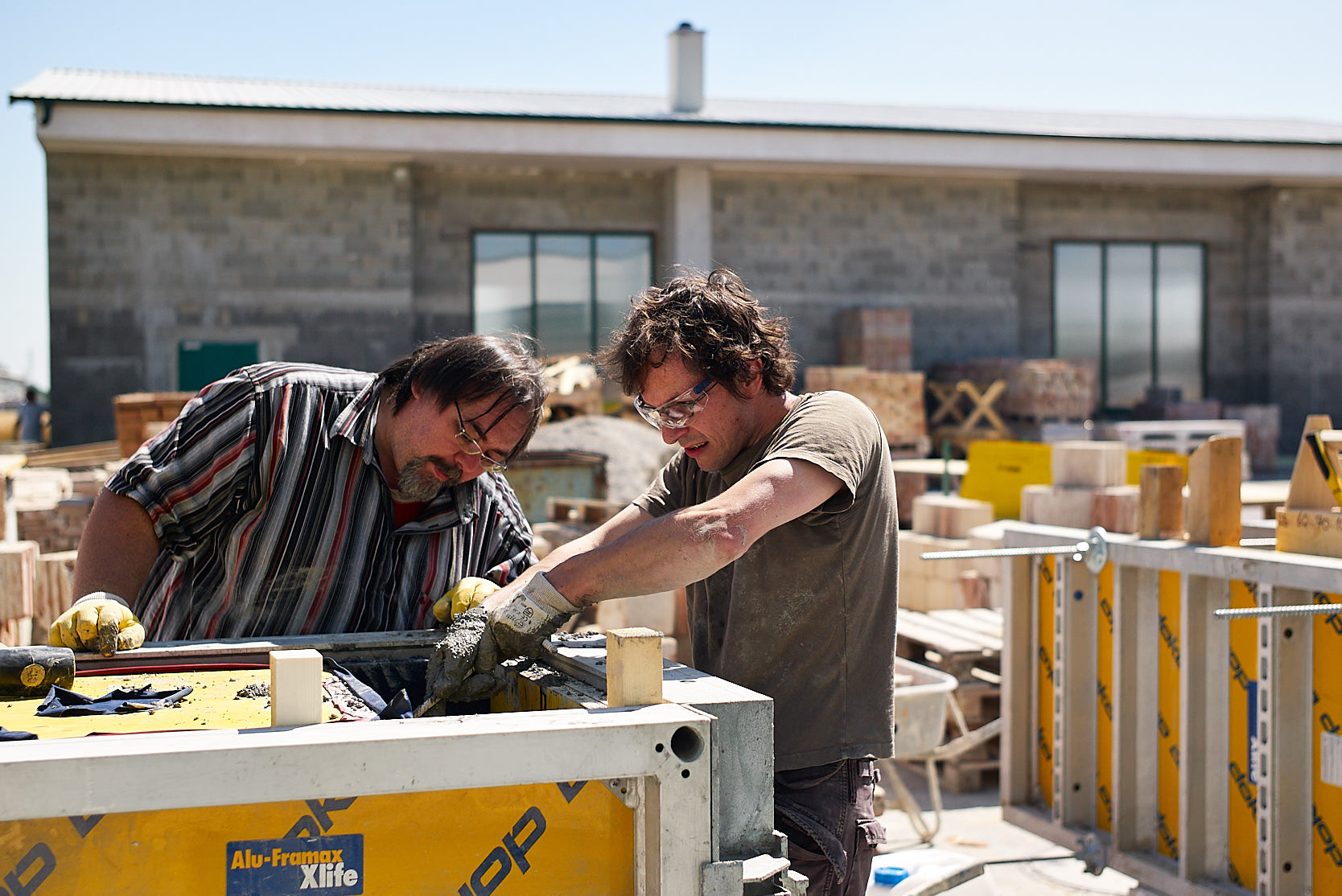 Venice Biennale 2010: Concretion Building Process
