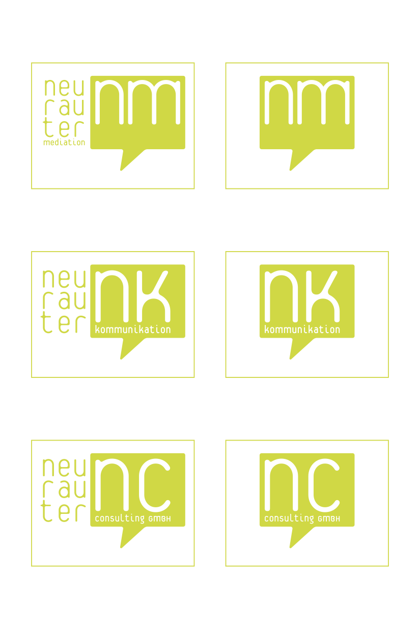 Neurauter: Logo Variations