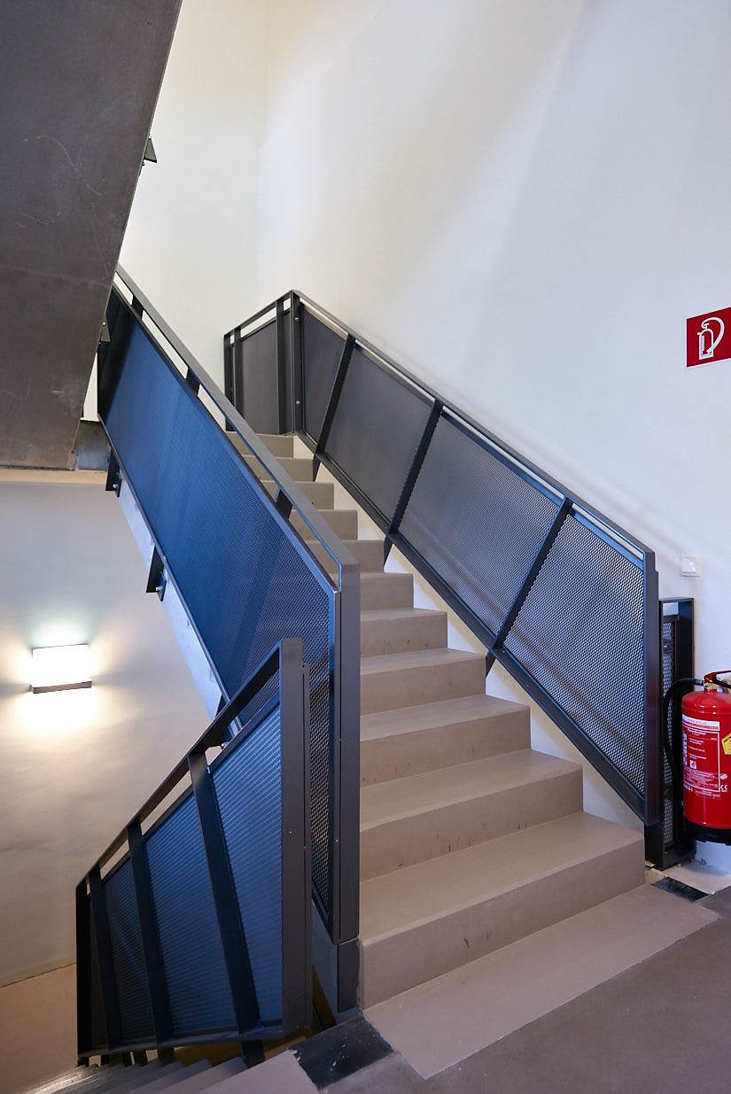 Saalgebäude Augarten: Internal Stair Case