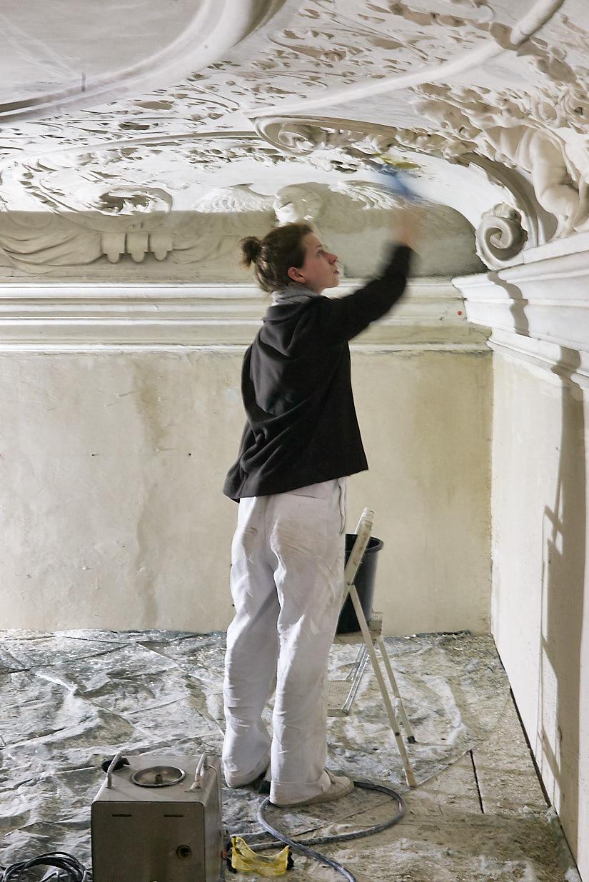 Saalgebäude Augarten: Restoration