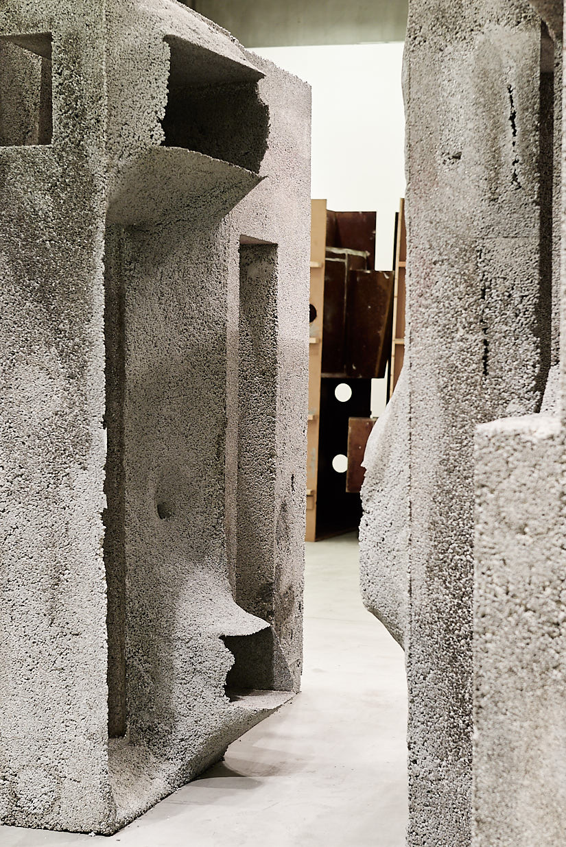 A Styrofoam Lover with (E)Motions of Concrete, Sci-Arc Gallery Los Angeles, 2009