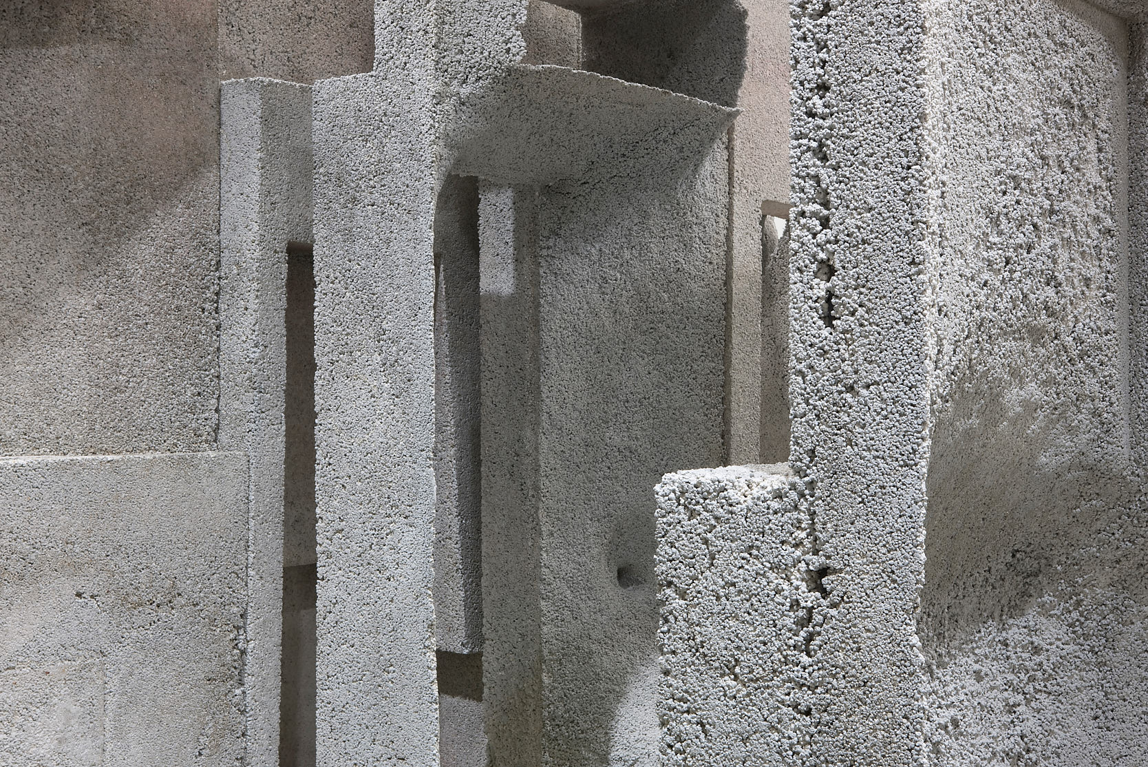 A Styrofoam Lover with (E)Motions of Concrete, Sci-Arc Gallery Los Angeles, 2009: Detail