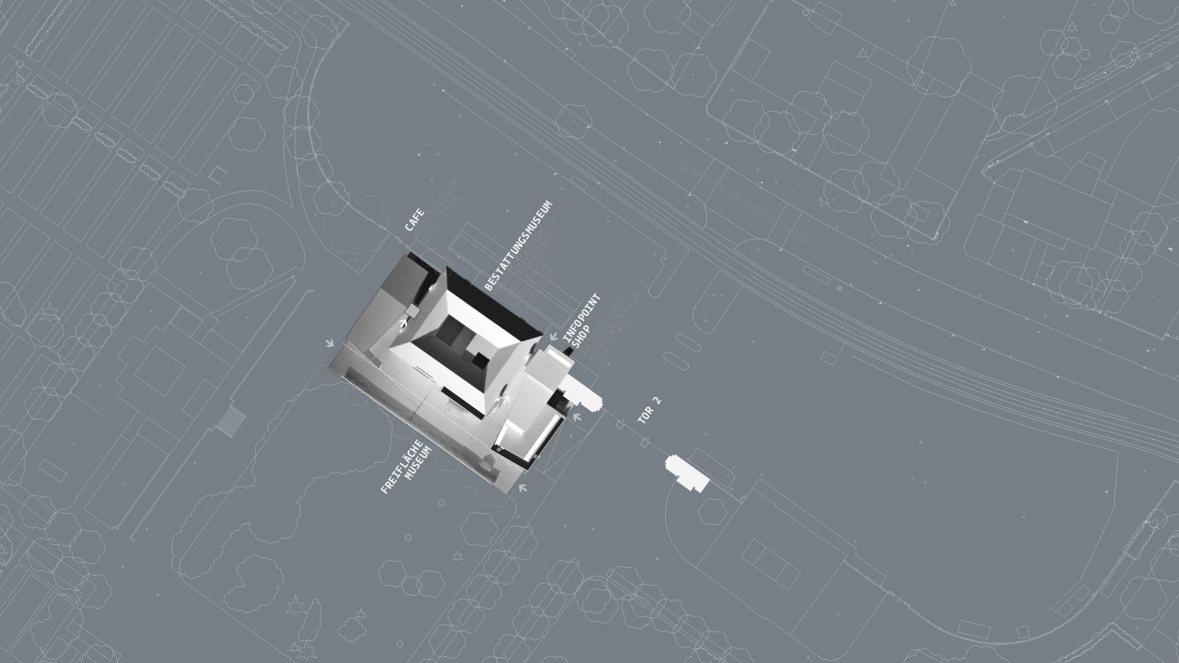 Zentralfriedhof: Site plan