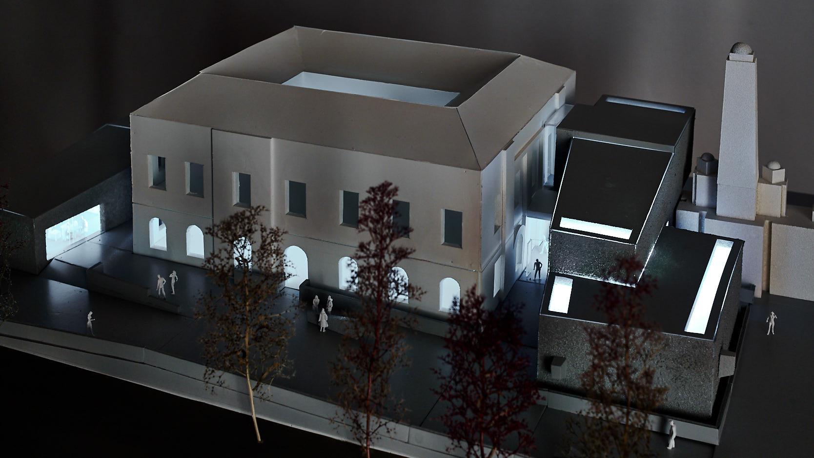 Zentralfriedhof: Model night view
