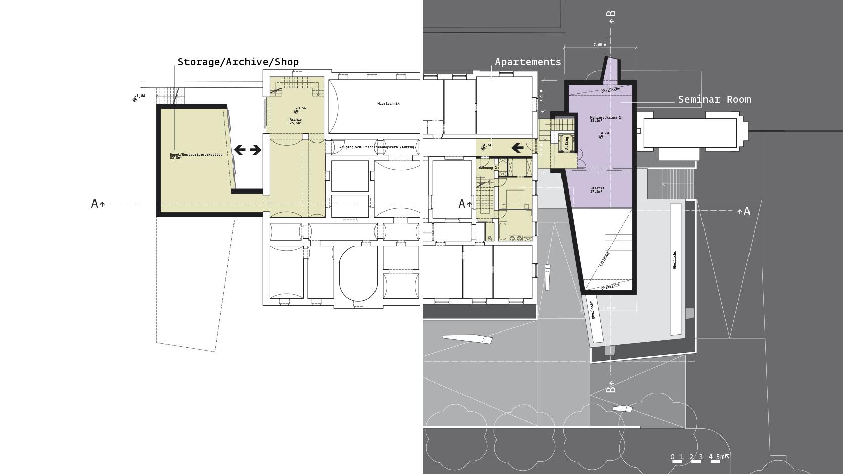 Zentralfriedhof: Plan -1/+1
