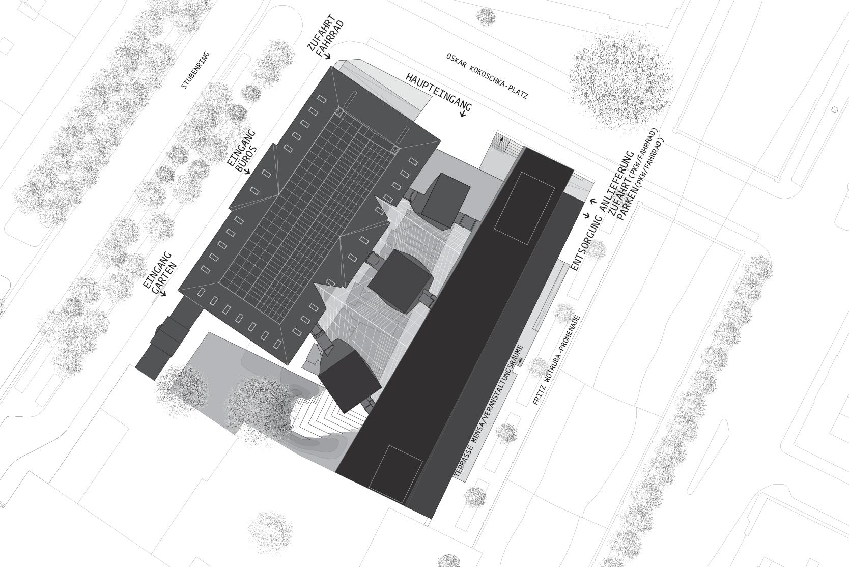 Angewandte Wien: Site plan