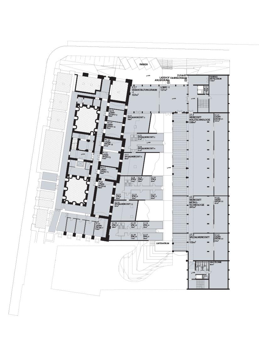 Angewandte Wien: Plan -1
