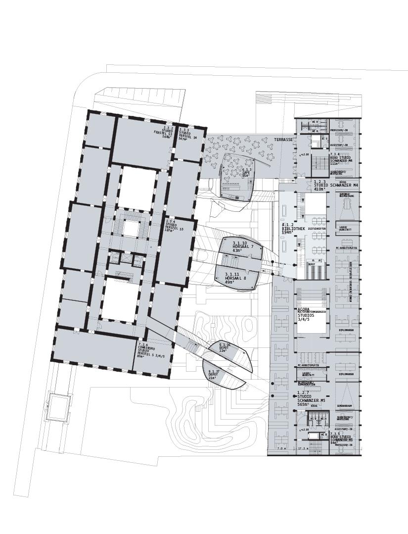 Angewandte Wien: Plan +3