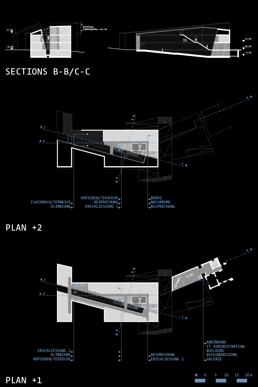 IST Austria Competition: Plans/Sections