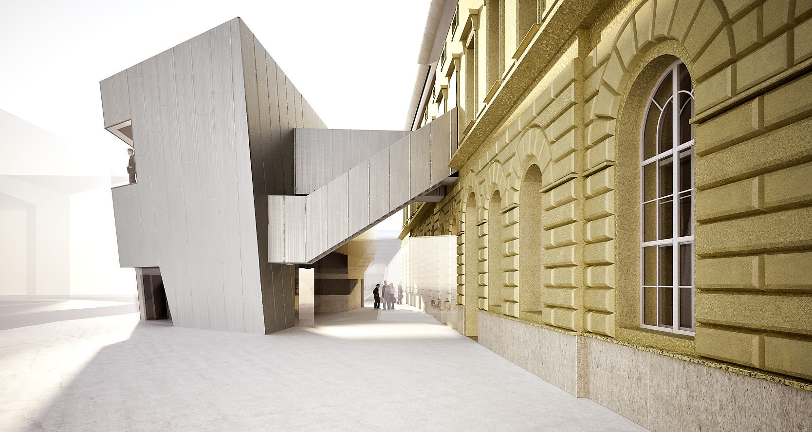 Library for the University of Music and performing Arts Vienna: In-between