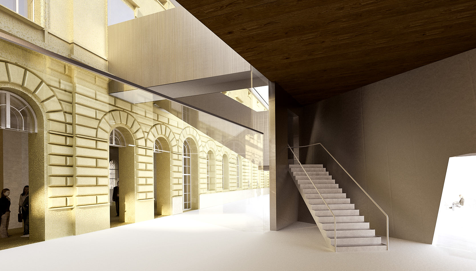 Library for the University of Music and performing Arts Vienna: Inside