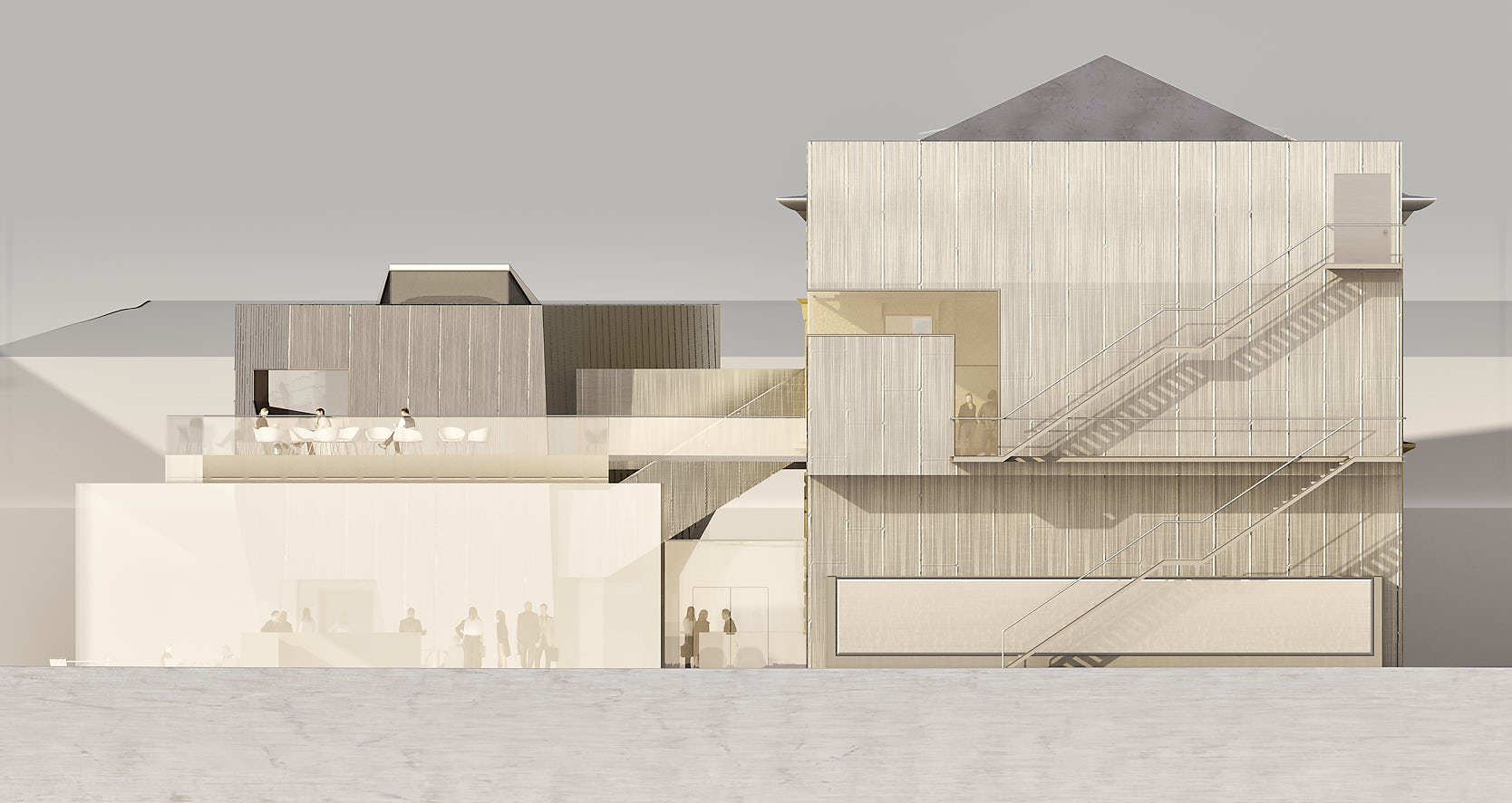 Library for the University of Music and performing Arts Vienna: East