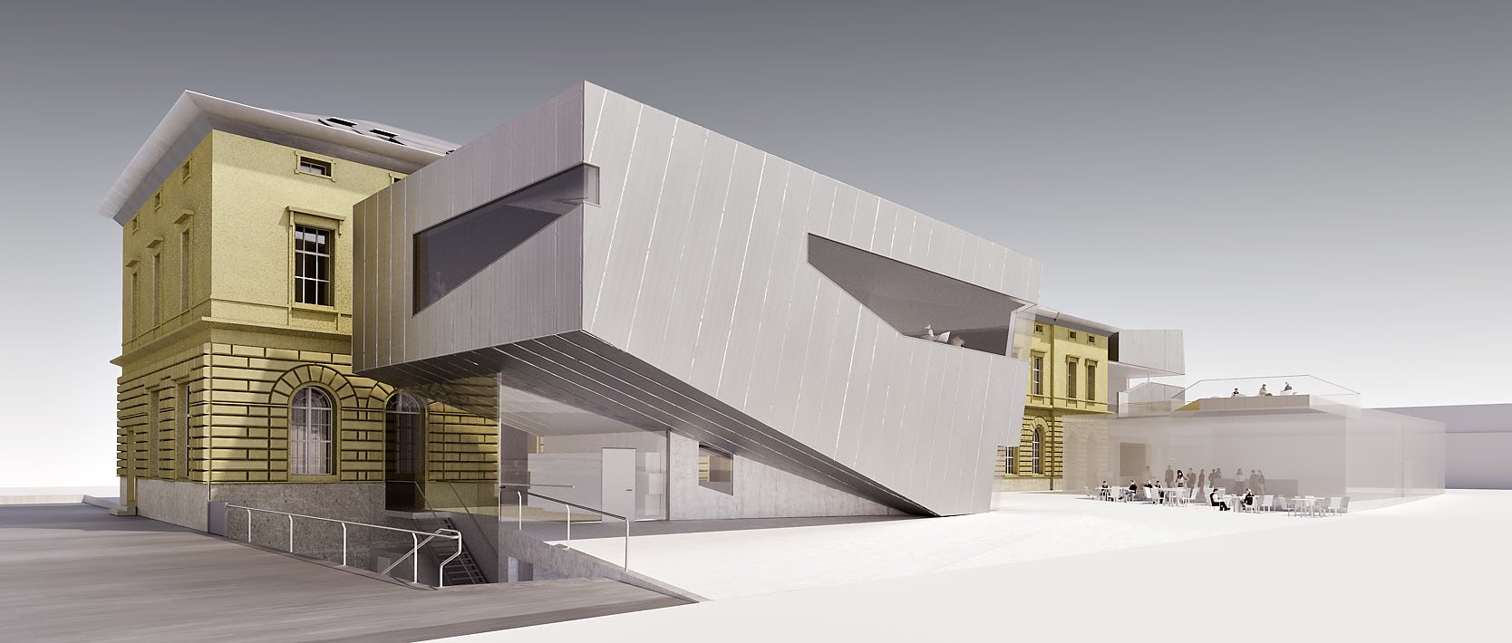 Library for the University of Music and performing Arts Vienna: South/West