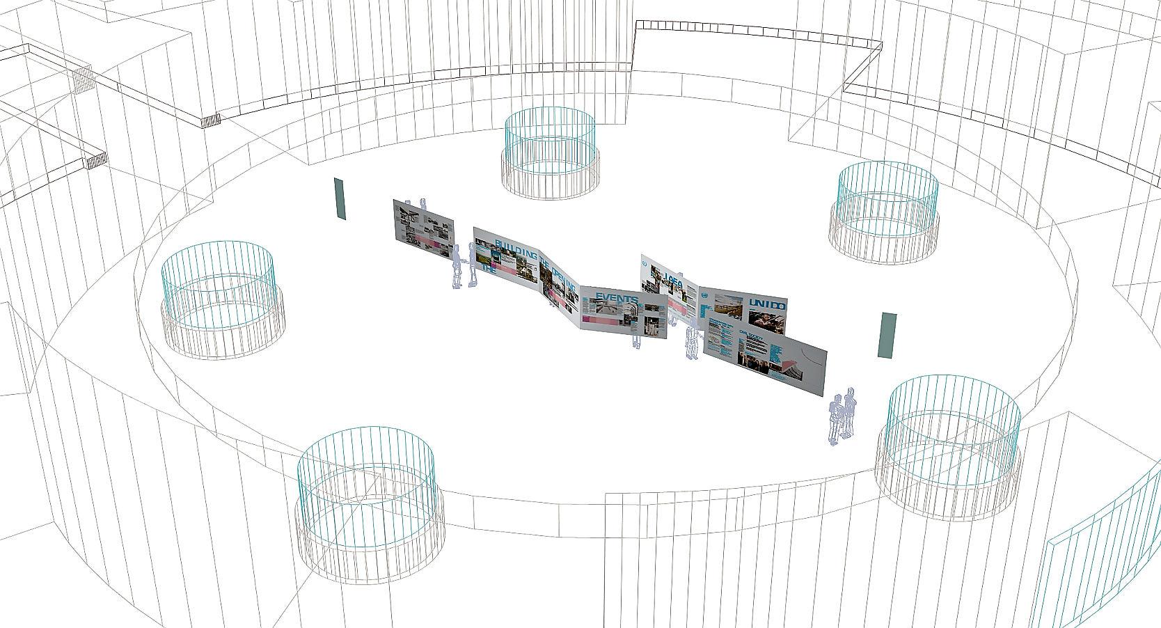 20 Years Vienna International Centre: Concept
