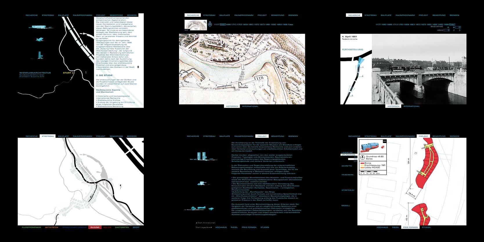 Wienfluss Architektur: Screenshots