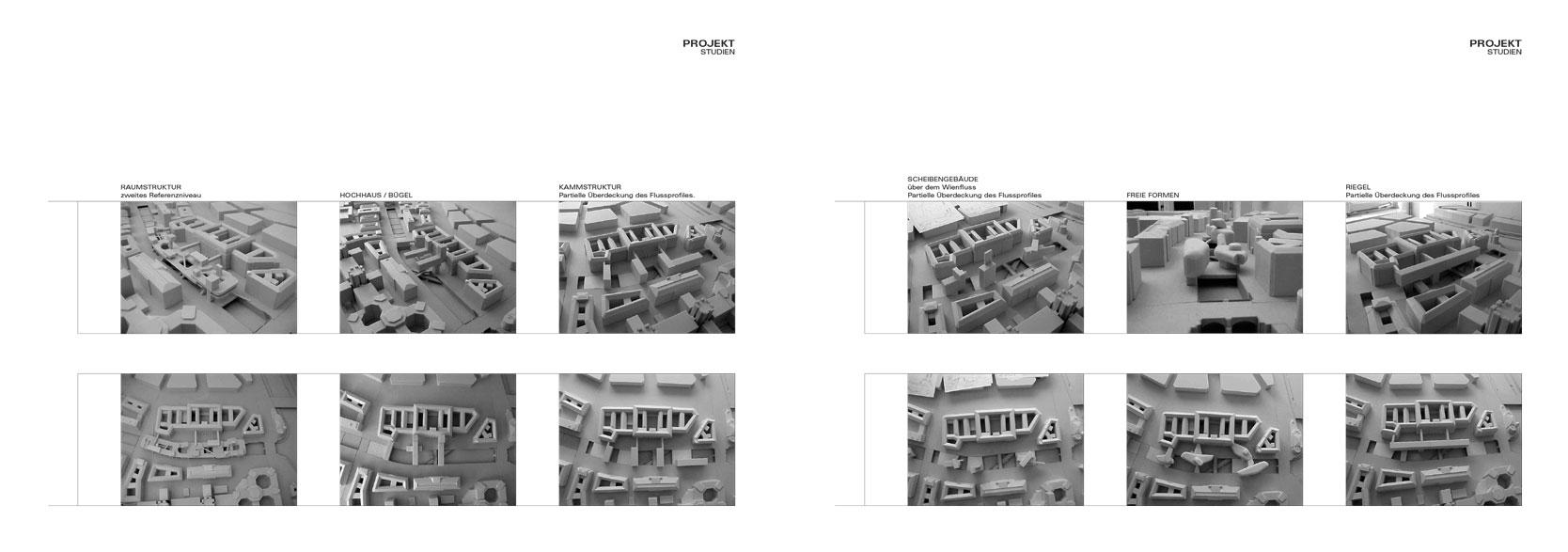 Wienfluss Architektur: Studies
