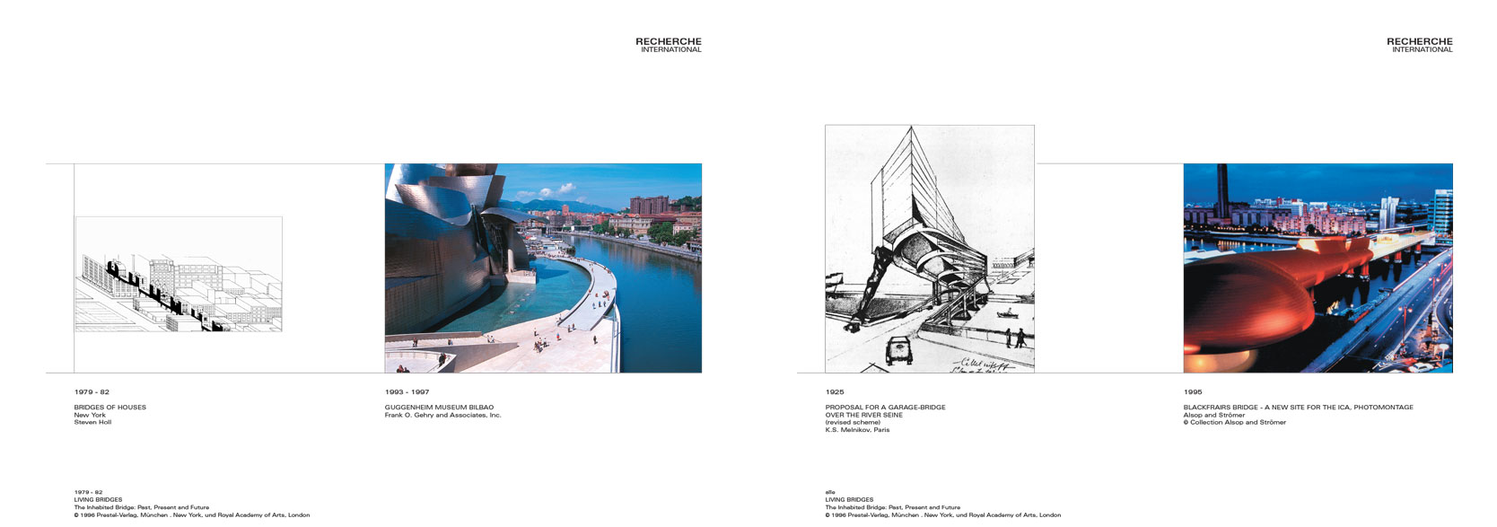 Wienfluss Architektur: Research