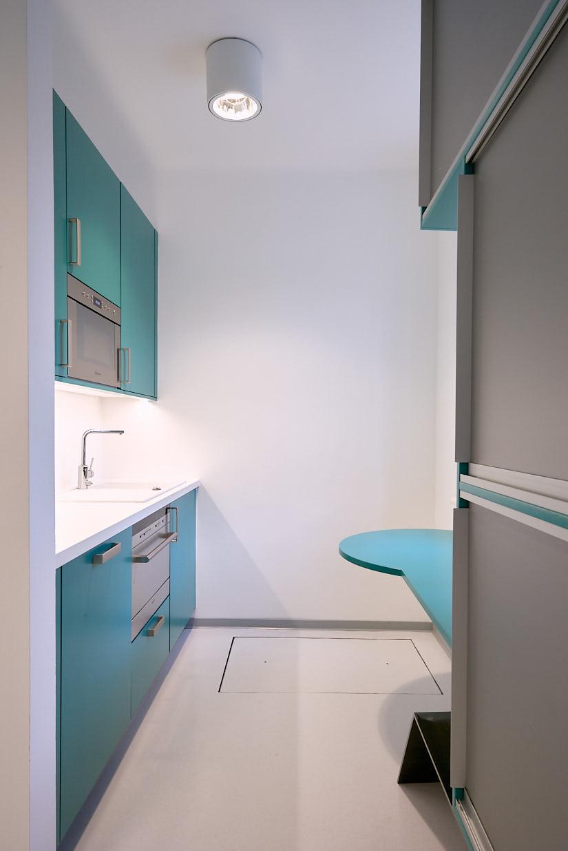 Office Augarten: Kitchen